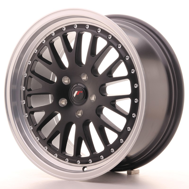 Llanta Japan Racing Jr10 18X8,5 Et40-40 Blank Matt Black