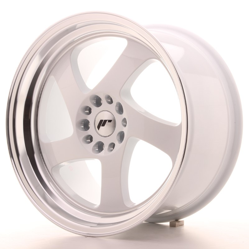 Jante Japan Racing Jr15 18X9,5 Et40 5X112/114 White