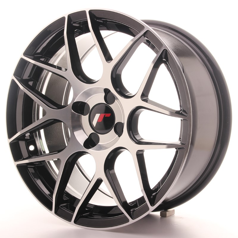 Rim Japan Racing Jr18 17X8 Et25-35 4H Blank Machinedb