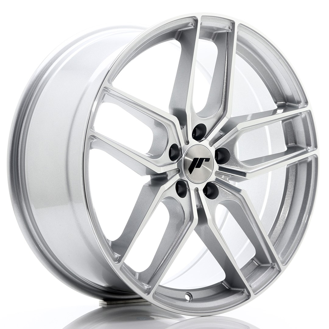 JAPAN RACING JR25 hliníkové disky 8,5x19 5x112 ET40 Machined Face Silver